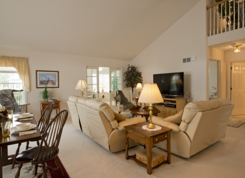 Carriage Homes are luxury homes with ample space. Retirement Homes and Independent Senior Housing   Garden Spot Village