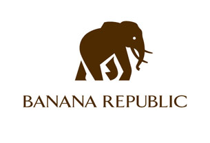 Banana Republic Elephant Logo