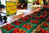 Strawberries at GSV Farmer's Market