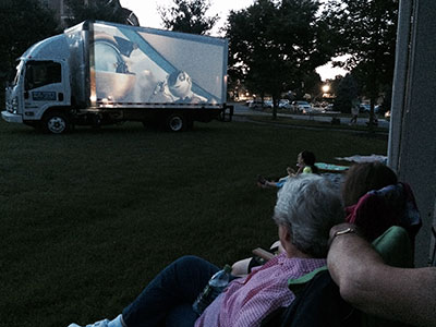 Grands and Kids Camp Movie Night