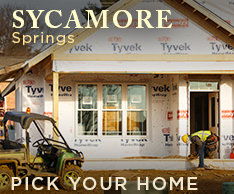 Pick Your Home at Sycamore Springs