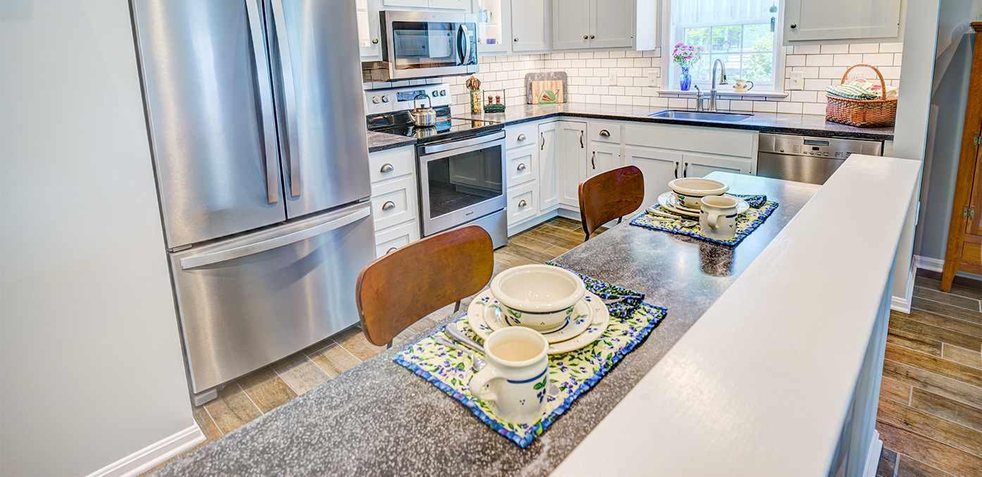 The Carriage Homes kitchen