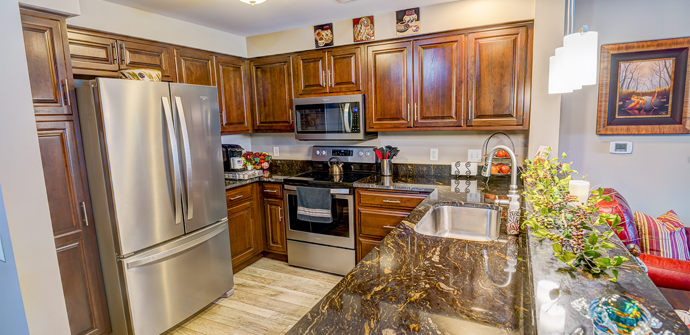 Village Square Apartments Kitchen